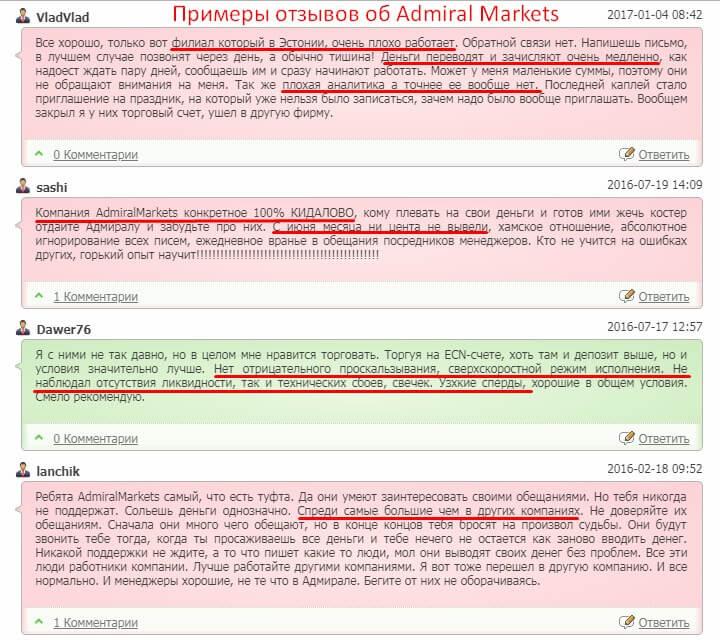 Admiral Markets официальный сайт