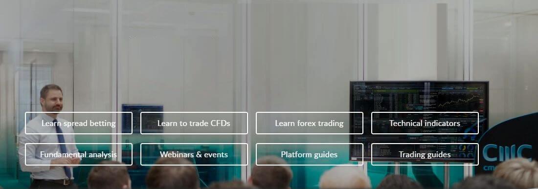 Обзор брокера CMC Markets
